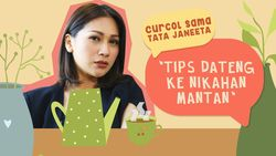 Curcol Sama Tata Janeeta: Tips Datang Ke Nikahan Mantan