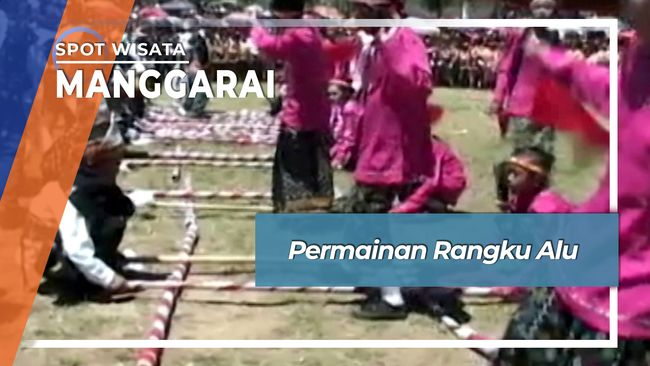 Rangku Alu Permainan Tradisional Anak Manggarai Flores