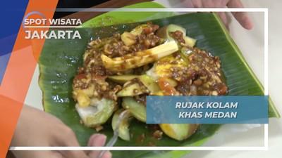 Rujak Kolam, Sesegar Suasana Istana Maimun Medan di Jakarta
