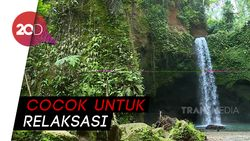 Celebrity on Vacation: Indahnya Air Terjun Tibumana Bali