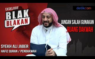 Syekh Ali Jaber Blak-blakan: Saya Ada Salah, Saya Bukan Wali