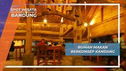 Rumah Makan Berkonsep Kandang, Bandung