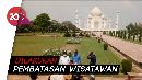 Wajah Taj Mahal yang Buka Lagi Kala India Dihantam Corona