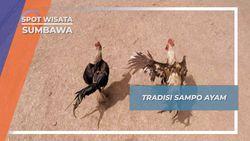 Sampo Ayam, Tradisi Balap Sumbawa