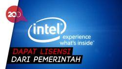 Intel Bakal Pasok Komponen Lagi untuk Huawei?