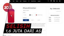 Harga iPhone SE di Indonesia Dijual Mulai Rp 7,999 Juta