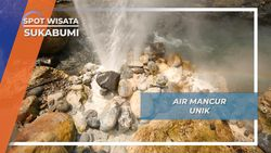 Air Mancur Belerang Cisolok Sukabumi