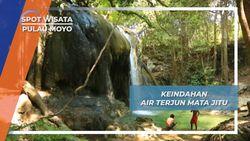 Air Terjun Mata Jitu, Keindahan Alami Labuana Aji Pulau Moyo