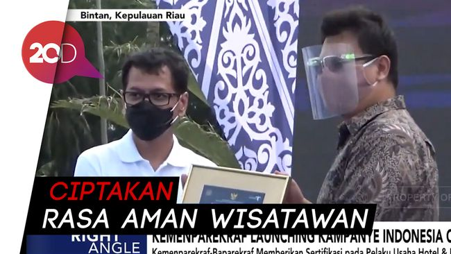 Kemenparekraf Promosikan Aman Berwisata Lewat Indonesia Care