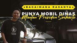 Cerita Pengusaha Muda Memiliki Eks Mobil Dinas Presiden Soeharto