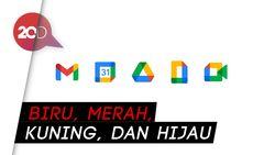 Tampilan Baru Logo Ikon Gmail hingga Chrome