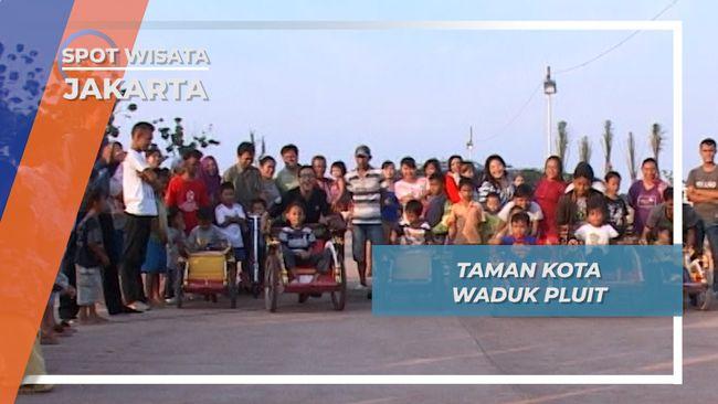 Berwisata Taman Kota Waduk Pluit Jakarta