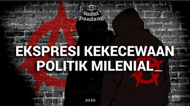 Eksistensi Anarko di Tengah Demo Ricuh Indonesia