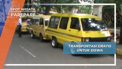 Transportasi Gratis Siswa, Inisiatif Mulia Para Guru Parepare