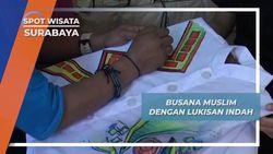 Busana Muslim Lukis, Kolaborasi Unik Galeri Lukis Surabaya