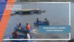 Tarik Perahu Parepare, Hiburan Rakyat di Sungai Salo Karajae