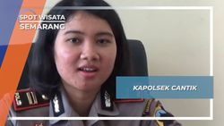 Anggun dan Berwibawa, Pesona Paras Cantik Kapolsek Termuda di Pulau Jawa