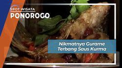 Gurame Goreng Garing Gurih Saus Kurma, Membawa Terbang Rasa Kuliner Ponorogo