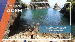 Goa Sarang Aceh, Pesona Tebing Tepi Laut Pulau Sabang