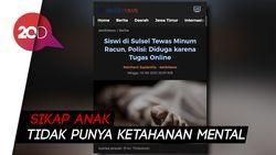 Guru Besar UNY Soroti Siswi Bunuh Diri karena Belajar Online