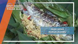 Ikan Sema Kukus Bambu Pagar Alam