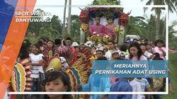 Meriahnya Pernikahan Adat Using, Banyuwangi