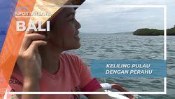 Jukung Ride Keliling Pulau Kalong Jembrana Bali