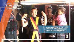 Pakaian Adat Lawo, Busana Acara Puncak Upacara Reba Desa Manubhara Nusa Tenggara Timur