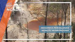 Perjalanan Panjang Menuju Danau Vulkanik Wawo Muda Ngada Nusa Tenggara Timur