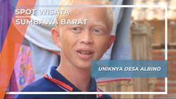 Desa Mantar Sumbawa Barat, Masyarakat dengan Warga Albino