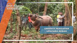 Upacara Reba NTT, Pemotongan Hewan Ternak Sebagai Rasa Syukur Kepada Tuhan