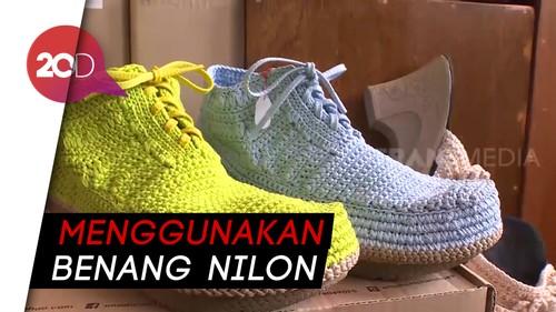 Yuk Intip Proses Pembuatan Sepatu Rajut Lokal!