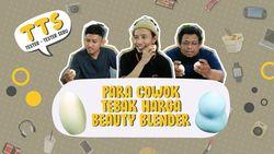 Reaksi Cowok Pegang Beauty Blender