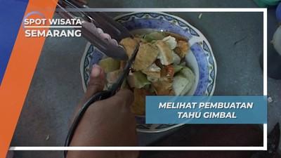 Tahu Gimbal, Campuran Tahu dan Peyek Udang ala Mugassari Semarang