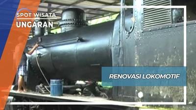 Restorasi Lokomotif Uap Museum Kereta Api Ambarawa