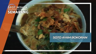 Soto Ayam Bokoran Semarang, Sarapan segar ala Plampitan