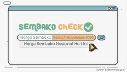 Update Sembako 1 Nov 2020: Harga di Beberapa Daerah Stabil