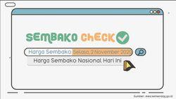 Update Harga Sembako 2 November 2020: Cenderung Harga Stabil