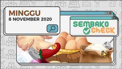 Harga Sembako 8 November 2020: Papua Cabai Menyentuh Rp 70.000 Perkilo
