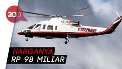Donald Trump Dikabarkan Jual Helikopter Emas