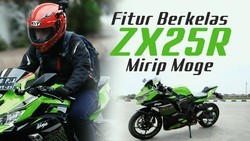 Sensasi Berkendara Harian Menggunakan Kawasaki ZX-25R