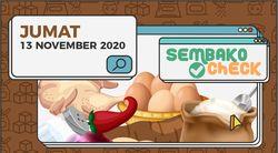 Harga Sembako 13 November 2020: Harga Cabai Turun di Beberapa Daerah