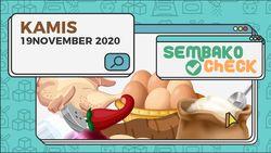Harga Sembako 19 November 2020: Harga Minyak Curah di Jakarta Turun