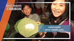 Pengeber Nasi Jamblang, Penjual Eceran Kuliner Khas Cirebon