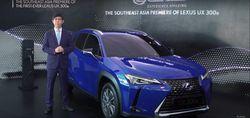 Lexus UX 300e Ikut Setrum Dunia Mobil Tanah Air