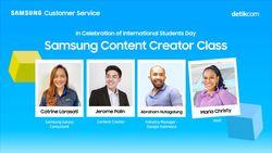 Kiat Buat Konten Menarik di Samsung Content Creator Class