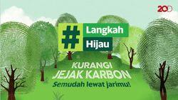 Mulai #LangkahHijau, Donasikan Jejak Karbonmu untuk Penanaman Pohon