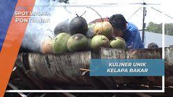 Segar dan Berkhasiat, Kuliner Unik Kelapa Muda Bakar Pontianak, Kalimantan Barat