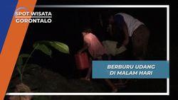 Berburu Udang di Sungai, Biasa Dilakukan Suku Polahi pada Malam Hari, Gorontalo
