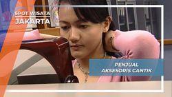 Memiliki Paras Cantik, Wanita ini Berkeliling Kantor Menjajakan Aksesoris, Jakarta